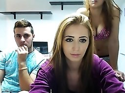 Good butt hoes getting turns at-one dick on livecam
