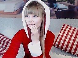 Webcam s prettiest European  college girl