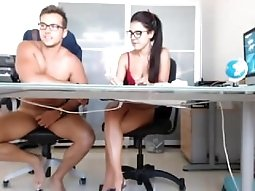 Hot Couple on Webcam 3 Amateur Blowjob Fuck
