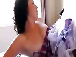 exgf solo clip with a charming brunette fuck amateur girl