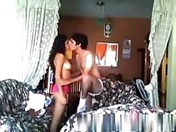 Hombra sets up a cam to tape him fucking his latina gf
