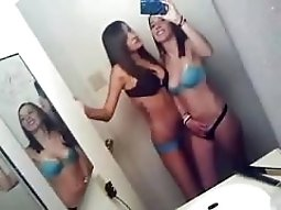 Unseen Selfshot Video Of teeny Lesbos