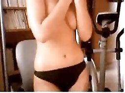 unshaved pussy Showing Nice Tits On cyber fuck