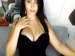 She asked me to turn on my virtual sex and then she showed me her huge tits