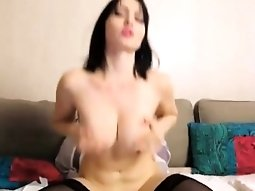 Anal angel busty raven babe NudeArt squirting