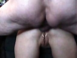 Nice ass gets creampie
