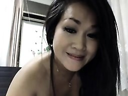 Squirting solo of booty Asian mum Chandra
