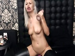 Hot Exotic Girl Wild Solo Masturbation