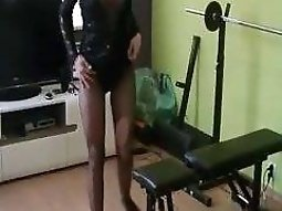 Hot sextape girlfriend clip with me posing on web camera