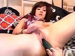 Crazy Webcam movie with College, Masturbation scenes