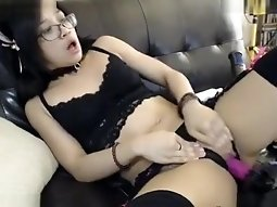 Exotic Webcam record with Ass, Masturbation scenes