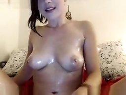 Incredible Webcam video with Latina, Masturbation scenes