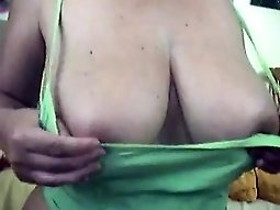 Busty sexy brunette bitch fingering her vagina on cam