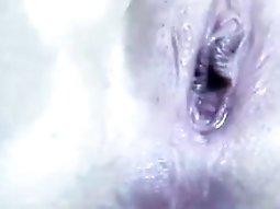 Tattooed Cam Slut Teasing Close Up