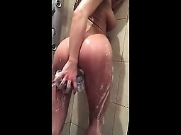 My intense shower masturbation and orgasm