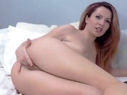 Webcam girl masturbate and fingering