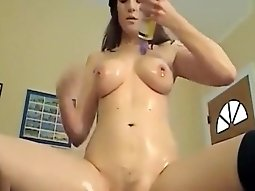 Hottest Webcam video with Girlfriend, Masturbation scenes