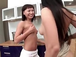 Horny Webcam video with Asian, Lesbian scenes
