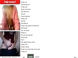 girl is totally in the mood for some cybersex with a stranger on omegle