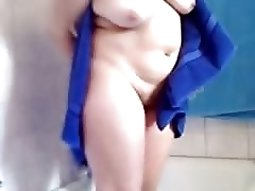 Nude Girl After Showering Gets Recorded On Camera