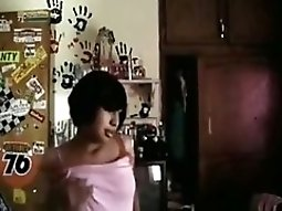 chinese teenie Makes A Striptease Video For Her BF