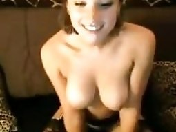 Spicy hot cyber fuck babe with big boobies showing off her divine body