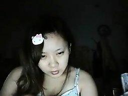 Very oriental girlfriend