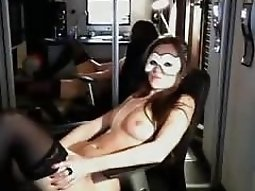 French girl play on cam