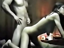 Russian girl masha fucker her bf on the music of mission impossible in her bedroom