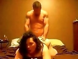 bubble butt Girl Gets anal dp Doggystyle Fucked And Gets An first time anal pussy cumshot