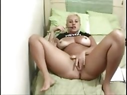 blonde anal toying On The webcam