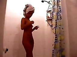 small tits first time blowjob Tapes Herself Getting Ready For A party In The Bathroom