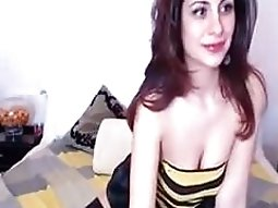 Terrific webcam solo scene with me demonstrating my booty