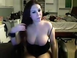 Amazing Webcam movie with Big Tits scenes